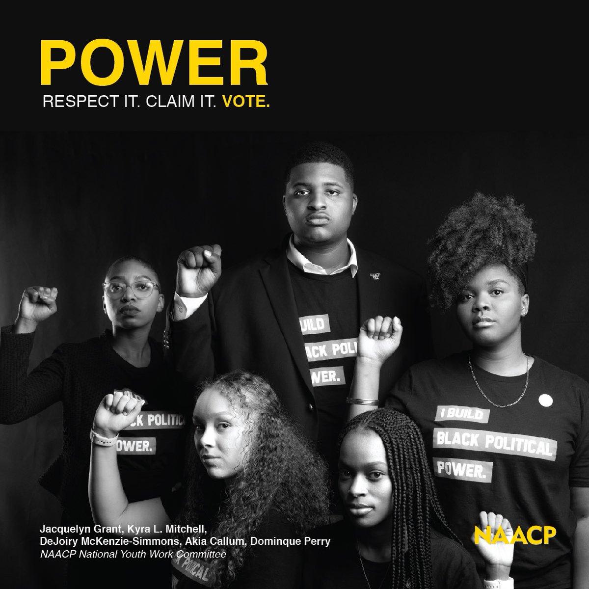 Power: Respect It. Claim It. VOTE.